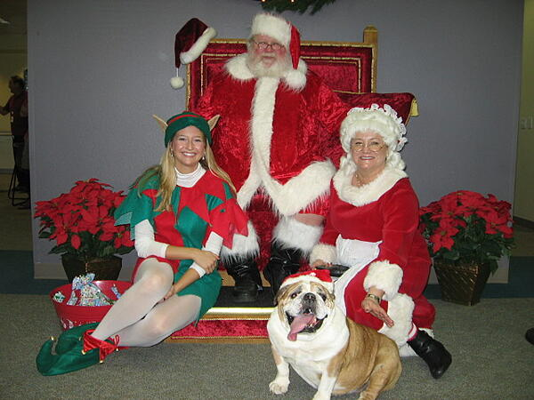Santa Party, FrankCrum