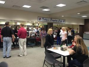 Tilly's Payday Cafe, during a recent FrankCrum employee breakfast
