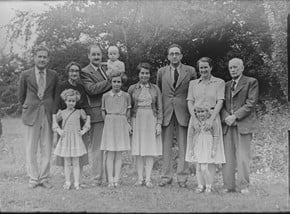 family owned poe group photo