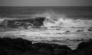 storm preparedness breaking waves