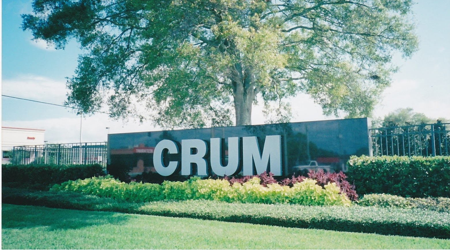 Crum sign