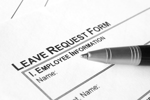 leave request form