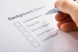 pre employment background check