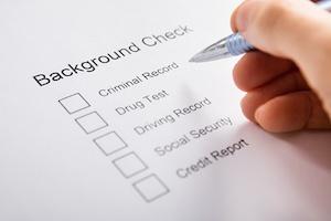 pre employment background check